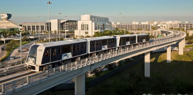 Dollar Rent A Car Miami Airport: Miami International Airport Automated People Mover
